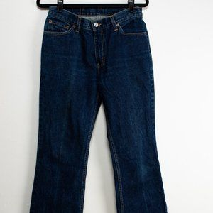 Vintage Levis 517 Boot Cut Slim Cut 90s